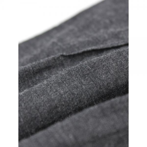 Gauze# ガーゼ コットン タイプライター ワンショルダーストラップ プリーツスカート G195GA F(フリー) グレー(GRY)