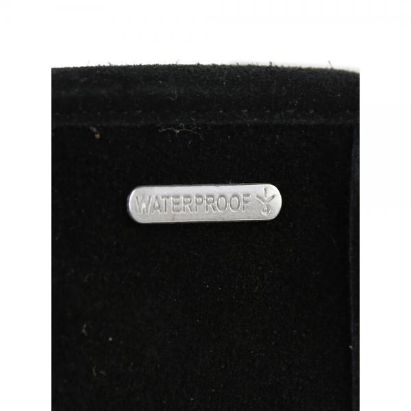 EMU エミュ シープスキン スエード ムートン ボア ウォータープルーフ 防水 ロングブーツ Paterson Classic Hi W11820 W6(23.0cm) Black(BLK)