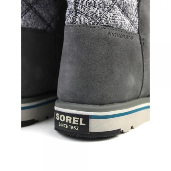 SOREL ソレル スエードレザー フリースライニング ミドルブーツ RYLEE RYLEE 6(23.0cm) DARE FOG(078)