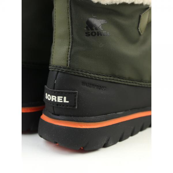 SOREL ソレル ナイロン 防水 ボアライニング ショートブーツ ウインタースニーカー COZY CARNIVAL NL2297 6(23.0cm) BLACK(011)