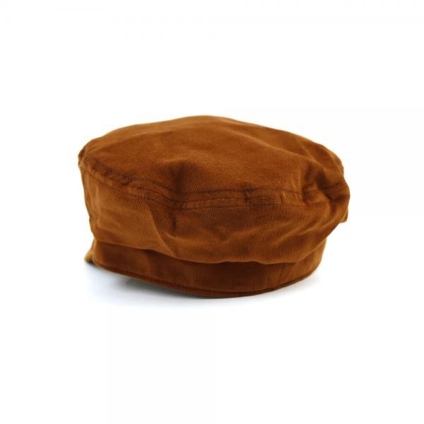 LOVABLE ラバブル コットン コーデュロイ マリンキャスケット キャップ 帽子 SEPIA CORD CASKET LCH-M77385 F(フリー) ブラック(BK)