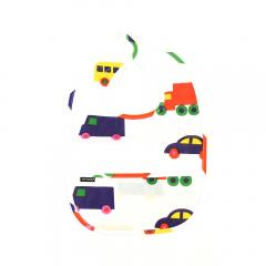 マリメッコ marimekko 日本限定 綿PVC加工 ブブー柄 よだれかけ ビブ PIKKU BO BOO BIB KIDS JP 52169366791 F(フリー) ホワイト(10)