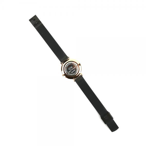 Daniel Wellington ダニエル・ウェリントン クラシックペティット アッシュフィールド ローズゴールド ラウンド 時計 腕時計 32mm リストウォッチ DW00100201 32(32mm) Rose Gold/Black(ROS)
