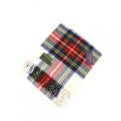 TWEEDMILL ツイードミル ウール タータンチェック 大判 ストール ひざ掛け Traditional Tartan Knee Rug 70×183cm T-KNEERUG F(フリー) Dress Stewart(AK425)
