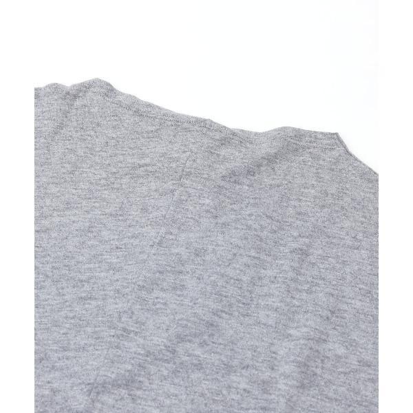 PUPULA ププラ コットン混 ドルマン アシンメトリー カットソー プルオーバー 373222 38(M) ネイビー(75)