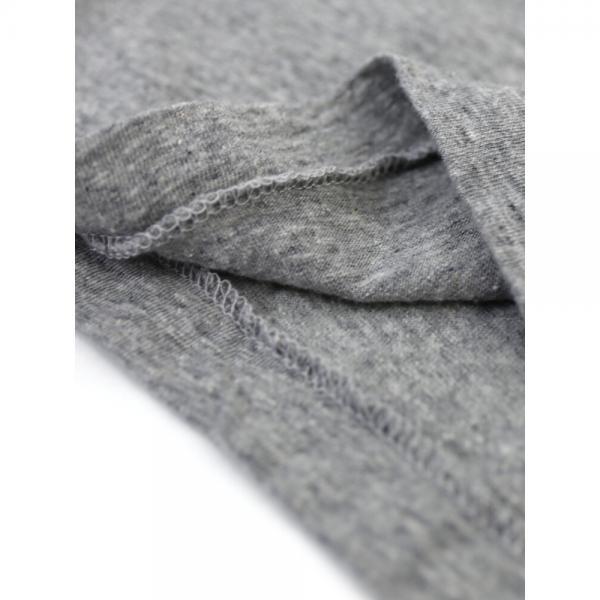 Allumer アリュメール オールドコットン LOS FELIZ プリンテッド 半袖 クルーネック Tシャツ カットソー 8241121 1(S/M) グレー(801)