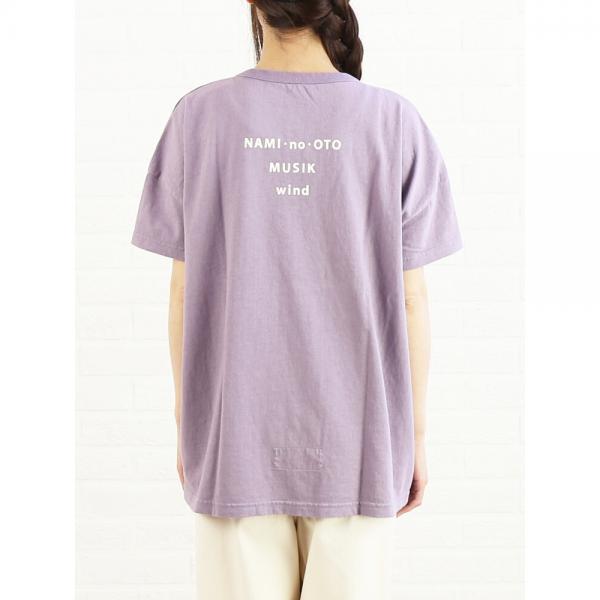 快晴堂 カイセイドウ コットン 海上がり 半袖 ビッグTシャツ ビーチミュージック 81C-58 2(M) オフ白(1)