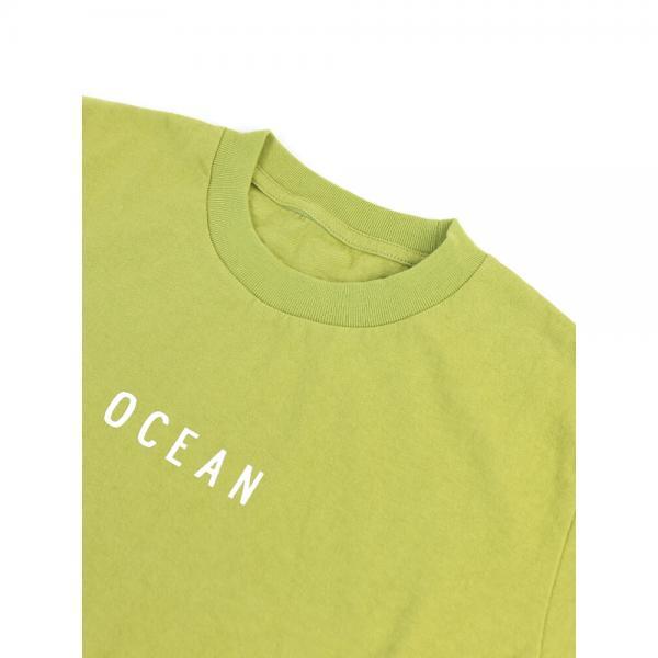快晴堂 カイセイドウ コットン クルーネック 半袖 Boy's 海上がりTシャツ オーシャン 81C-48G 3(M/L) オフ白(1)