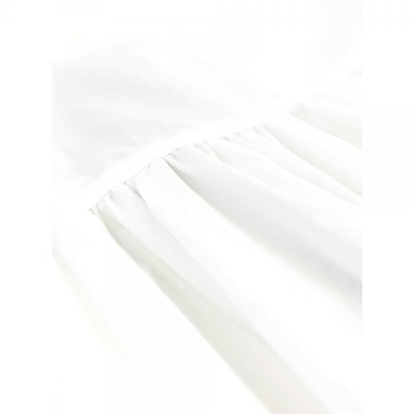 intoxic. イントキシック THOMAS MAGPIE コットン ジルワンダー ハイネック バックリボン 後ろ開き ワンピース 2181451 38(M) ホワイト(10)