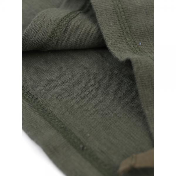 Allumer アリュメール コットン 裏毛 サイドスリットデザイン Tシャツ カットソー 8241141 1(S/M) カーキ(430)