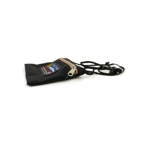 Tough Traveler タフトラベラー ナイロン ミニ ショルダーバッグ サコッシュ NECK POUCH S TT-0001 F(フリー) ブラック(BLK)