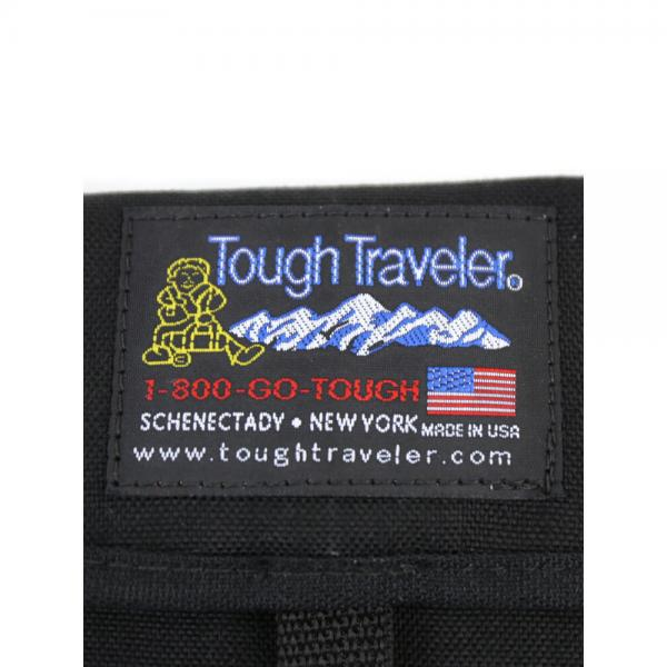 Tough Traveler タフトラベラー ナイロン フラップ 横長 ミニ ショルダーバッグ サコッシュ FLAP NECK POUCH MOD S TT-0002 F(フリー) ブラック(BLK)