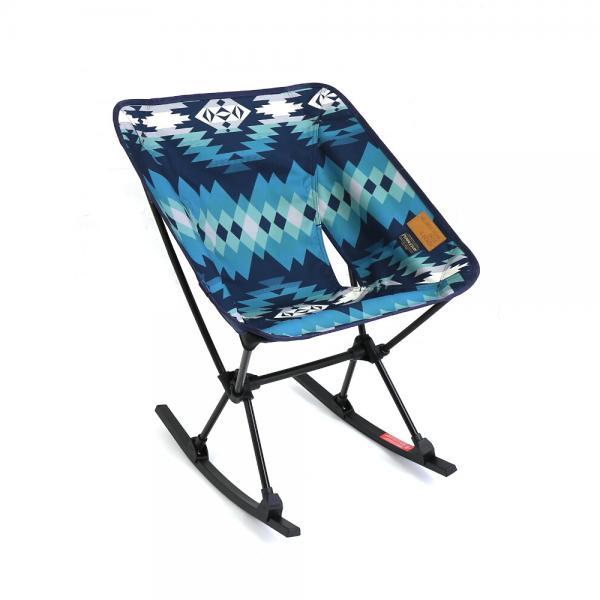 PENDLETON ペンドルトン ×Helinox コラボ ホーム・デコ&ビーチ アウトドア ホームチェア ウィズ ロッキングフット  折りたたみ式椅子 1975-7009 F(フリー) パパゴパーク(15930)