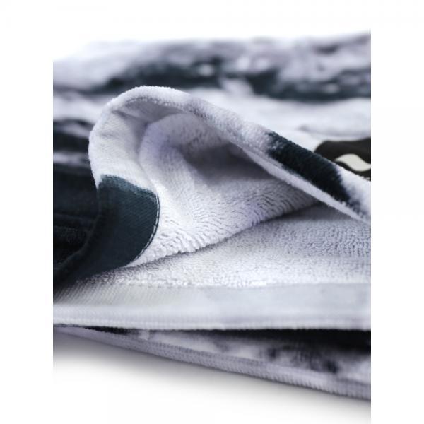 SLOWTIDE スロウタイド コットン 大判 ビーチタオル バスタオル STONES ST081 F(フリー) SMOKE(SMO)