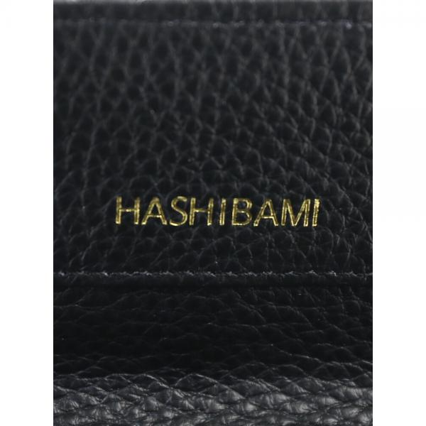Hashibami ハシバミ レザー newラウンドフォルム ミニウォレット 財布 HA-1711-453 F(フリー) ベージュ(BEG)