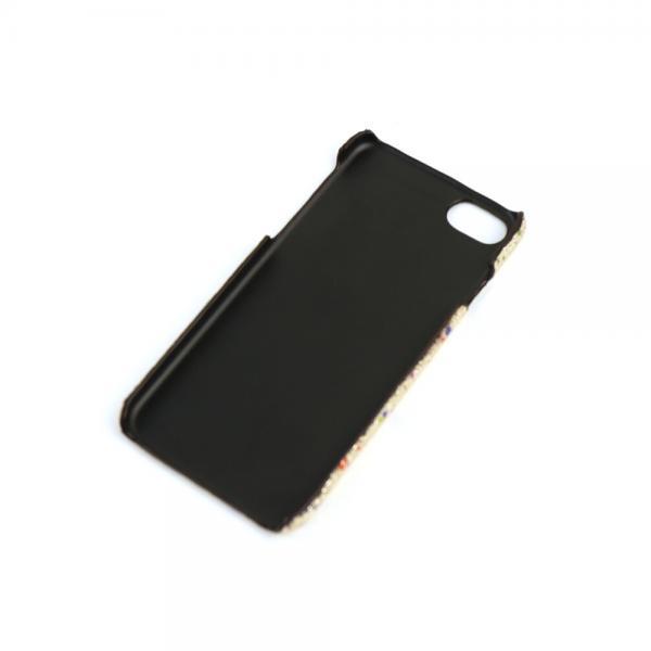 Hashibami ハシバミ レザー ドットメタリック iPhone8/7 iPhoneケース スマホケース HA-1711-474 F(フリー) ゴールド(GLD)