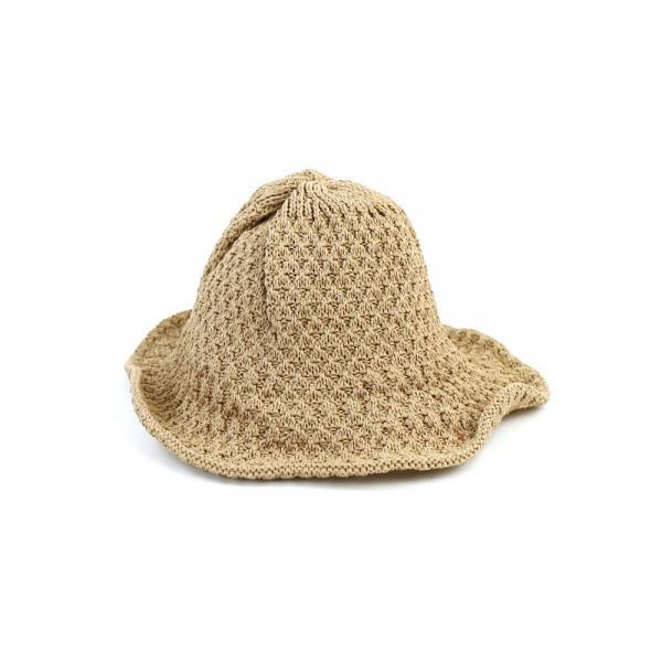 abu アブ  ワイヤー入り ペーパーハット 帽子 281120 F(フリー) ブラック(BLK)