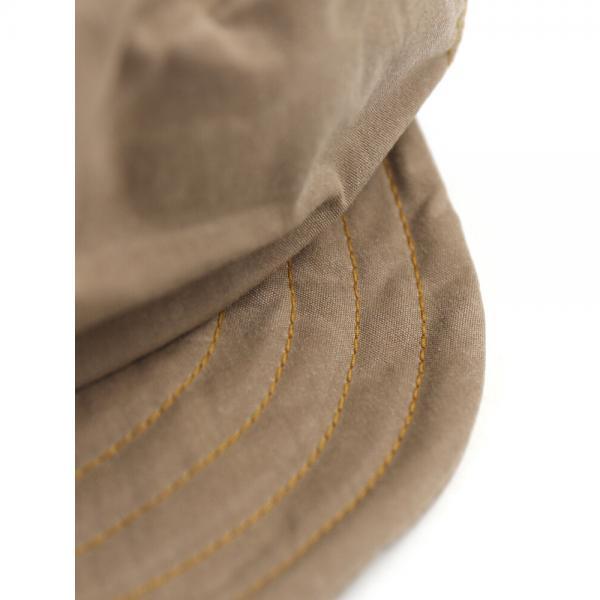 abu アブ コットンナイロン ワイヤー入り キャスケット 帽子 282125 F(フリー) ブラック(BLK)