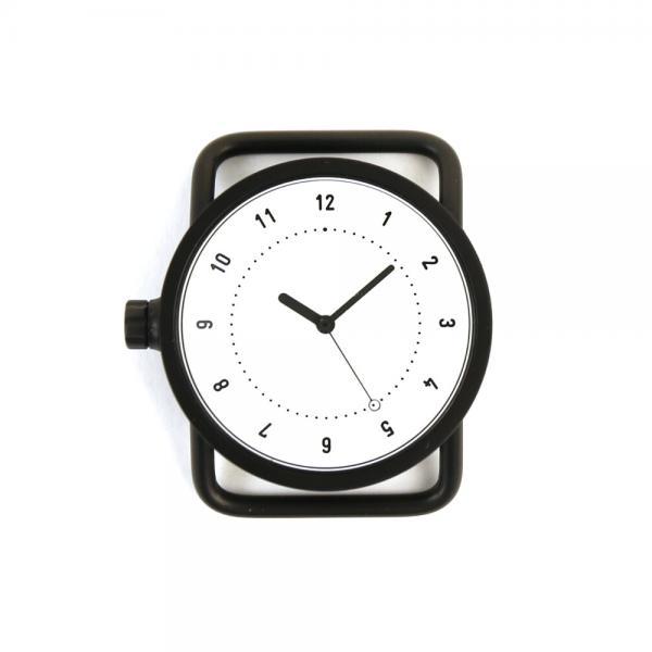 TID Watches ティッドウォッチズ  No.1 Collection 33mm 腕時計 文字盤 ブラックケース/ホワイトダイアル 148432 F(フリー) ホワイト(WHT)
