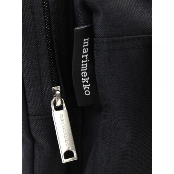 marimekko マリメッコ  横長 ショルダーバッグ KORTTELI SHOULDER BAG 52179245484 F(フリー) メランジグレー(95)