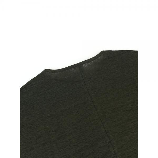 PUPULA ププラ リネン ドルマン ラウンドヘム カットソー プルオーバー 184173 38(M) ホワイト(00)