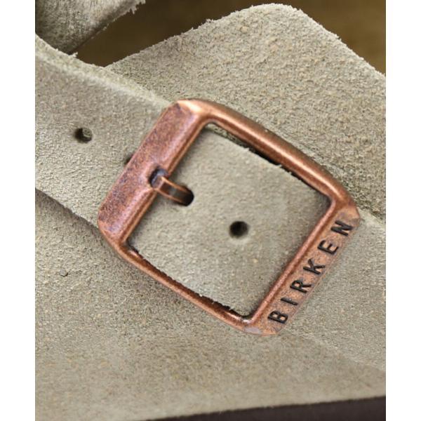 BIRKENSTOCK ビルケンシュトック スウェードレザー ソフトフットベッド クロッグサンダル ボストン BOSTON-SFB 35(22.5cm) モカ(MOC)