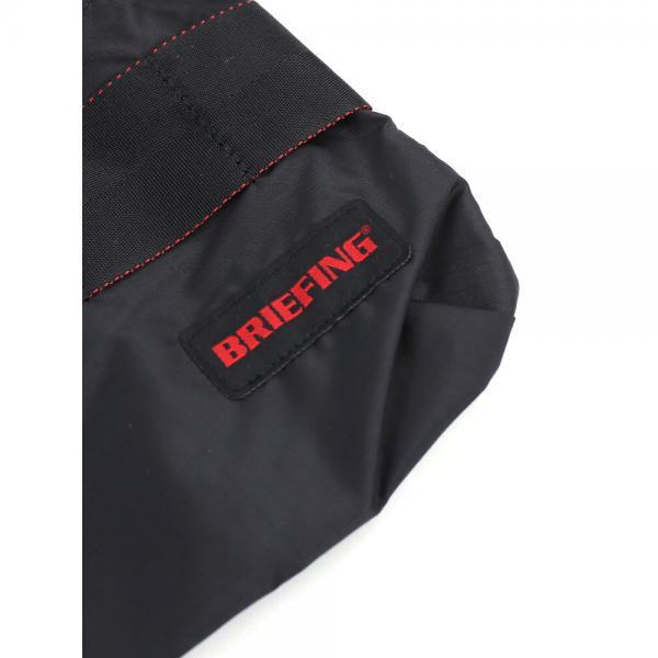 BRIEFING ブリーフィング リップストップナイロン  ショルダーバッグ サコッシュ SACOCHE M SL PACKABLE BRM181205 F(フリー) BLACK(010)