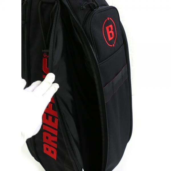 BRIEFING ブリーフィング コーデュラナイロン  ゴルフバッグ キャディバッグ CR-5 CART CADDIE BAG BG1812310 F(フリー) BLACK(010)