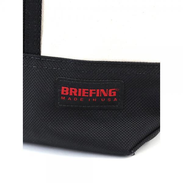 BRIEFING ブリーフィング キャンバス×バリスティックナイロン ビッグ トートバッグ 20th DUCK×BALLISTIC COMBI TOTE M BRL181303 F(フリー) BLACK(010)