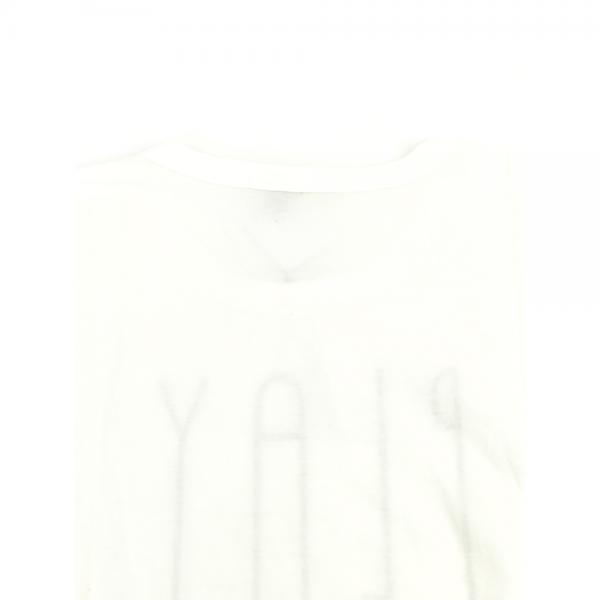 GRANDMA MAMA DAUGHTER by KATO' グランマ・ママ・ドーター コットン 半袖 クルーネック ワイド ロゴTシャツ ビッグTシャツ GC823642 1(S/M) ホワイト(WHT)