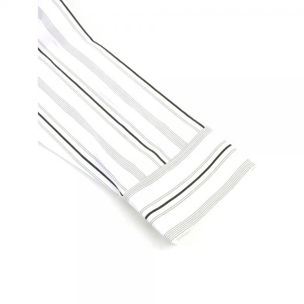 RIM.ARK リムアーク コットン スキッパー ストラッピング ドルマンシャツ ブラウス 460BSL30-0580 36(S/M) ホワイト(010)