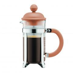 【日本正規品】CAFFEETTIERA フレンチプレスコーヒーメーカー ヘーゼルナッツ 0.35l