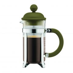 【日本正規品】CAFFEETTIERA フレンチプレスコーヒーメーカー オリーブ 0.35l
