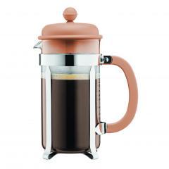 【日本正規品】CAFFETTIERA フレンチプレスコーヒーメーカー ヘーゼルナッツ 1.0l
