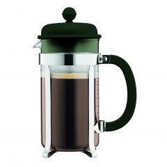 【日本正規品】CAFFETTIERA フレンチプレスコーヒーメーカー フォレストグリーン 1.0l