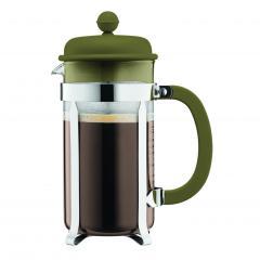 【日本正規品】CAFFETTIERA フレンチプレスコーヒーメーカー オリーブ 1.0l