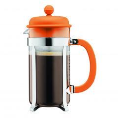 【日本正規品】CAFFETTIERA フレンチプレスコーヒーメーカー オレンジ 1.0l