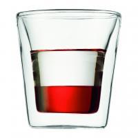 【日本正規品】BODUMCANTEEN ダブルウォールグラス(2個セット) 0.1l