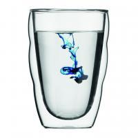 【日本正規品】PILATUS ダブルウォールグラス(2個セット) 0.35l