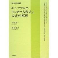 ギンツブルク-ランダウ方程式と安定性解析/神保秀一/森田善久