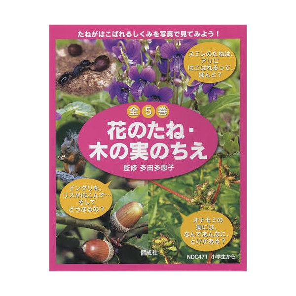 花のたね・木の実のちえ 全5冊/子供/絵本