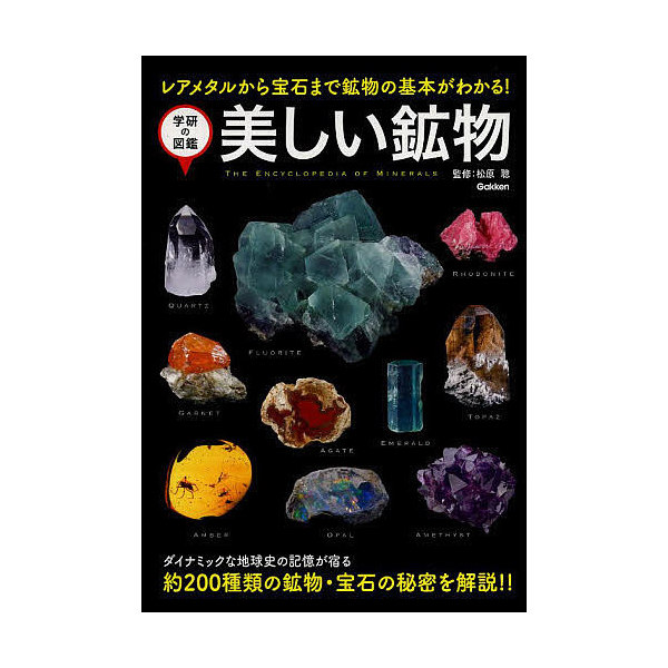 美しい鉱物 レアメタルから宝石まで鉱物の基本がわかる!/松原聰