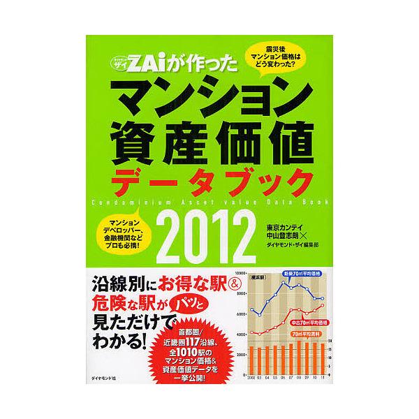 ZAiが作ったマンション資産価値データブック 2012/中山登志朗/ダイヤモンド・ザイ編集部