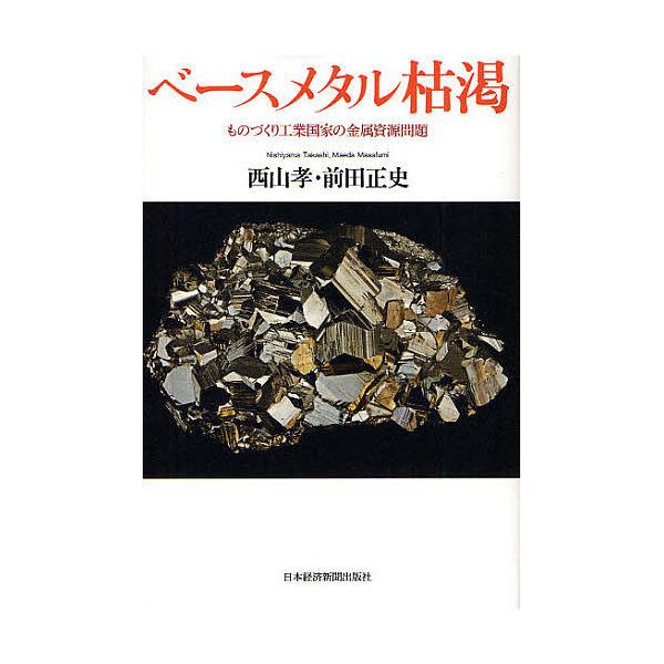 ベースメタル枯渇 ものづくり工業国家の金属資源問題/西山孝/前田正史