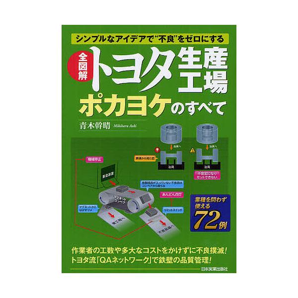 """全図解トヨタ生産工場ポカヨケのすべて シンプルなアイデアで""""不良""""をゼロにする/青木幹晴"""