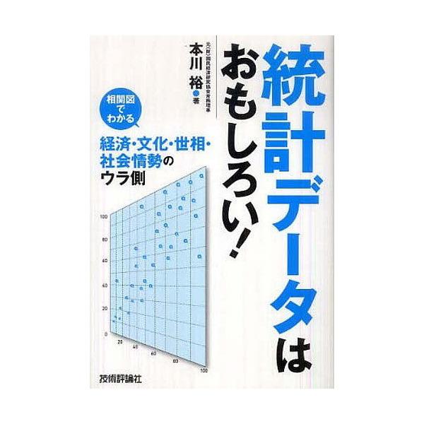 統計データはおもしろい! 相関図でわかる経済・文化・世相・社会情勢のウラ側/本川裕