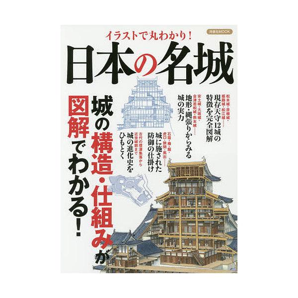 イラストで丸わかり!日本の名城 城の構造・仕組みが図解でわかる!