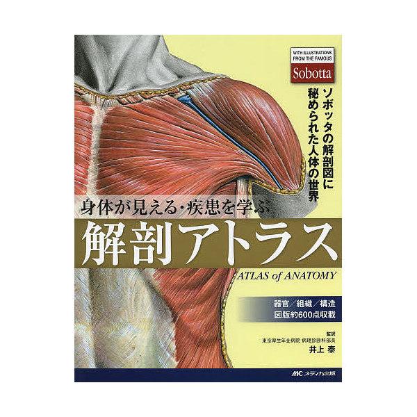 身体(からだ)が見える・疾患を学ぶ解剖アトラス ソボッタの解剖図に秘められた人体の世界/井上泰
