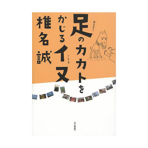 足のカカトをかじるイヌ/椎名誠