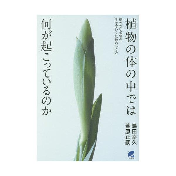 植物の体の中では何が起こっているのか 動かない植物が生きていくためのしくみ/嶋田幸久/萱原正嗣